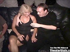 blonde anal milf porno theater gangbang fuck fest